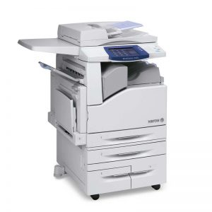 The WorkCentre 7400 color multifunction printers from Xerox are environmentally friendly; consuming less than 2 watts of power at sleep mode and are the first MFPs of their kind to incorporate biomass plastic that produces 16 percent fewer CO2 emissions during manufacturing.